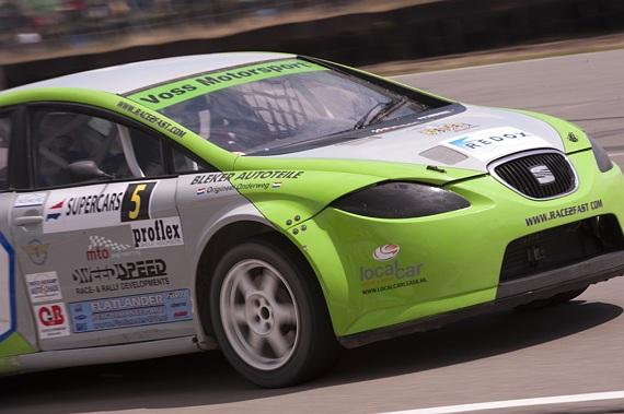 Een podiumplaats ondanks crash voor Ron Snoeck tijdens 3e NK Rallyracing