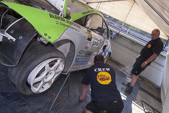 Werk aan de winkel voor het Ron Snoeck Racing Team na eerste EK dag