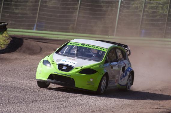 Ron Snoeck Racing Team hoopt op podiumplaats bij laatste BK Rallycross