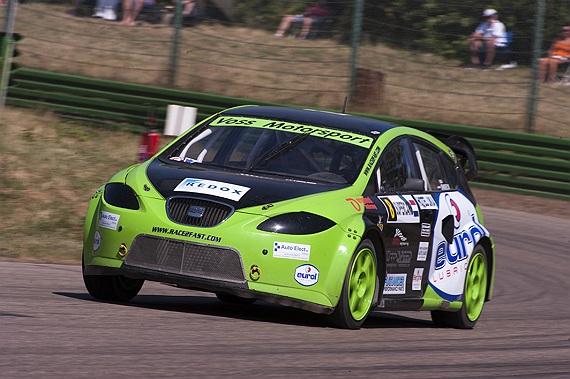 Snoeck en Langenberg delen auto tijdens Rallycross Challenge Europe