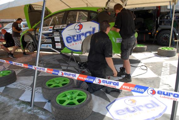 Ron Snoeck Racing Team blij met verlenging sponsoring van Eurol