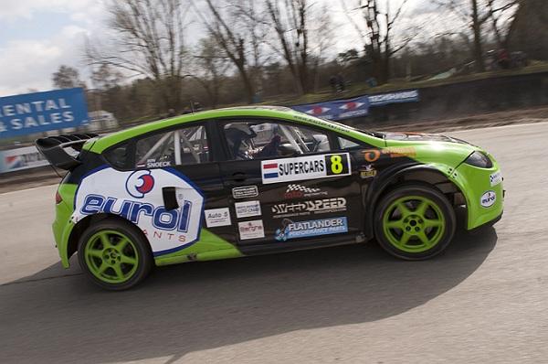 Ron Snoeck Racing Team met vertrouwen naar openingswedstrijd NK Rallyracing