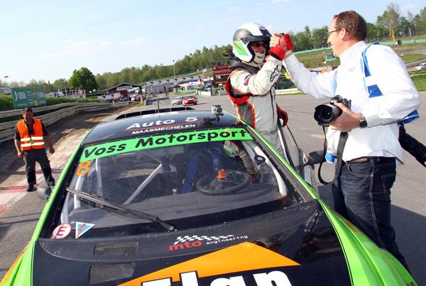 Na Duits feestje hopelijk ook een feestje in eigen land voor Ron Snoeck Racing