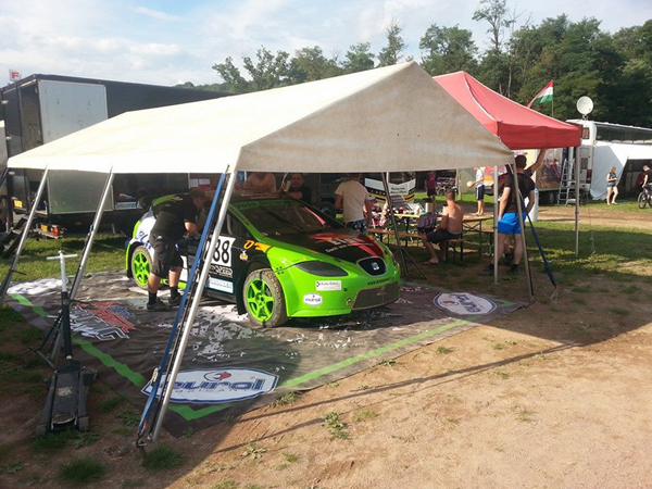 Mechanische pech verstoord EK Autocross debuut van Ron Snoeck