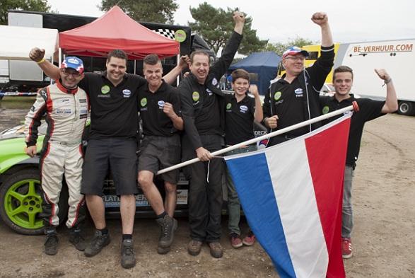Ron Snoeck is Belgisch- en Nederlands Kampioen Rallycross 2014